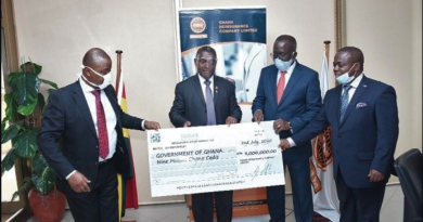 Ghana Reinsurance pays GH¢9m as Dividend to Gov't