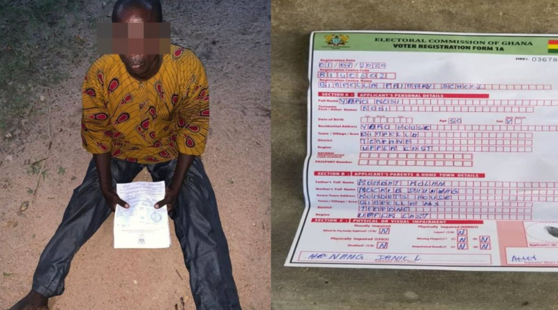 Togolese Arrested for Trying to Register