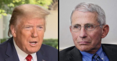 President Donald Trump and Dr. Fauci