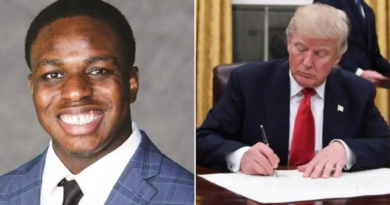 Trump awards Nigerian Student