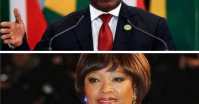Zinzi and Ramaphosa