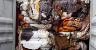 Waste from Sri Lanka