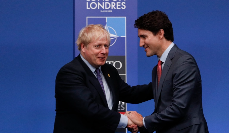 Boris and Trudeau