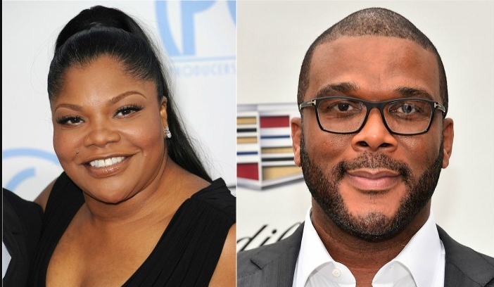 Mo'Nique and Tyler Perry
