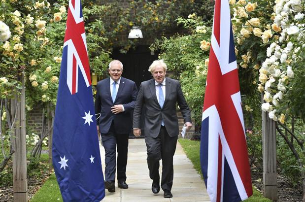 UK and Australia Trade Deal