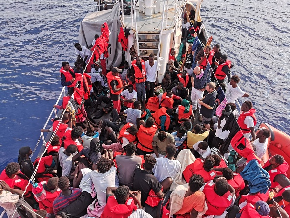 Nearly 200 migrants rescued off the Libyan coast