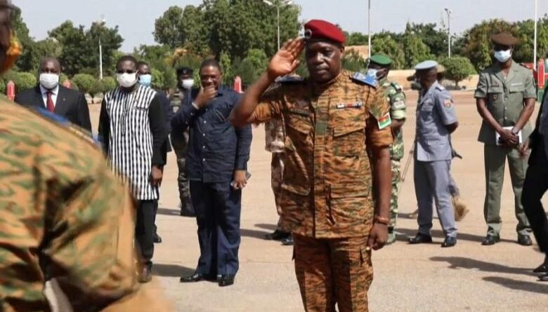 New army chief in Burkina Faso promises new strategy against terrorism